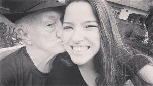 Bruna Bergamini, neta de Russo, faz homenagem ao avô em rede social (Foto: Reprodução/Instagram)
