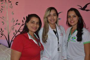 Marinelia Lopes, Aline Verde e Fernanda Falchi