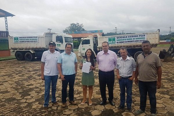 Foto de Prefeitura recebe reforço do Sindicato Rural na luta contra o Aedes Aegypti
