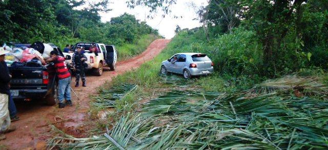 Foto de PM prende 16 agricultores tentando invadir fazenda em Canaã dos Carajás