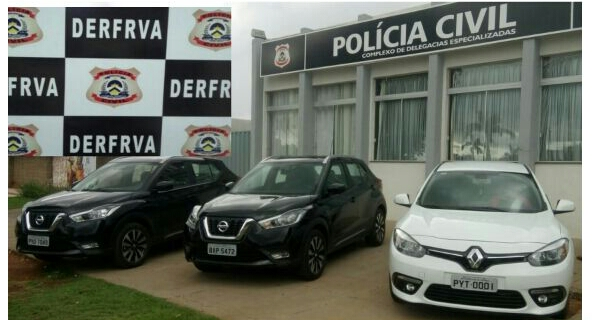 Foto de Polícia Civil do Tocantins desarticula organização criminosa que revendia veículos furtados