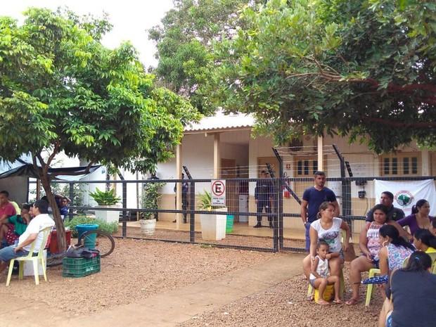 Foto de Em protesto, moradores ocupam Casa do Governo em Altamira