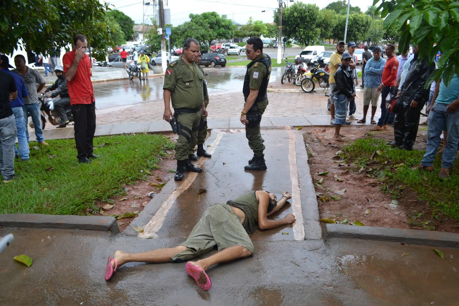Foto de Em Xinguara Morador de rua é assassinado em plena luz do dia