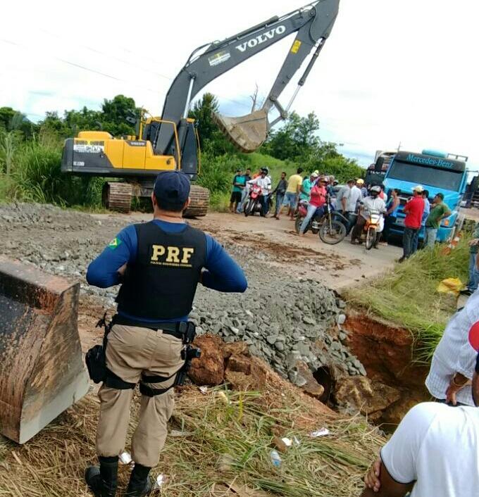 Foto de Sul do Pará/ Trecho da BR-155 é liberado