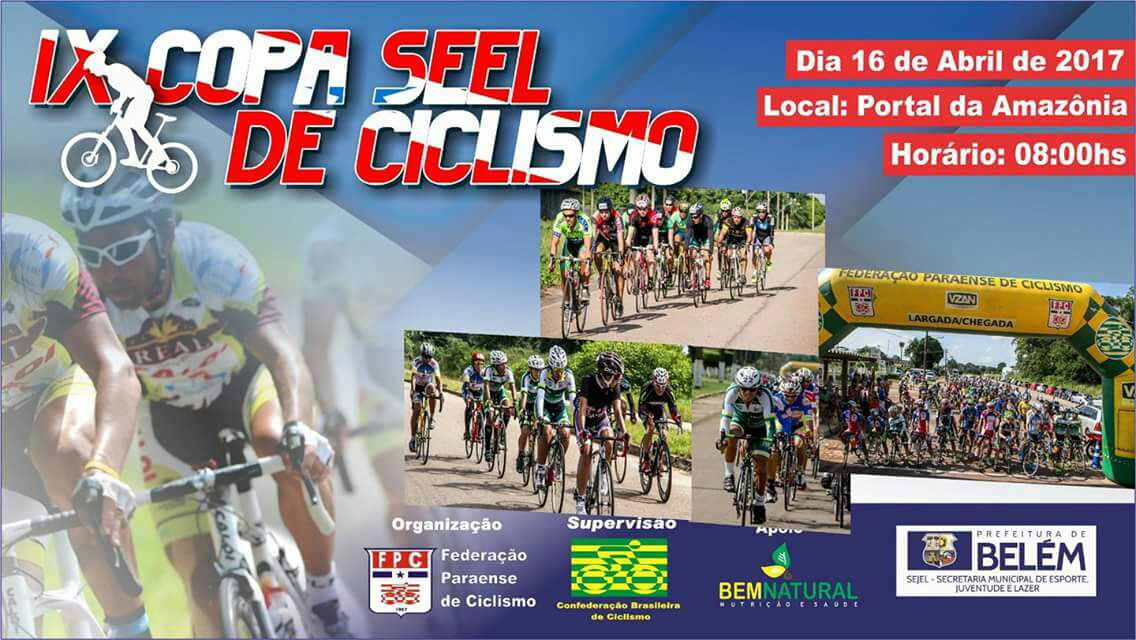 Foto de Ciclista de Xinguara se prepara para a IX Copa SEEL de Ciclismo do Estado do Pará