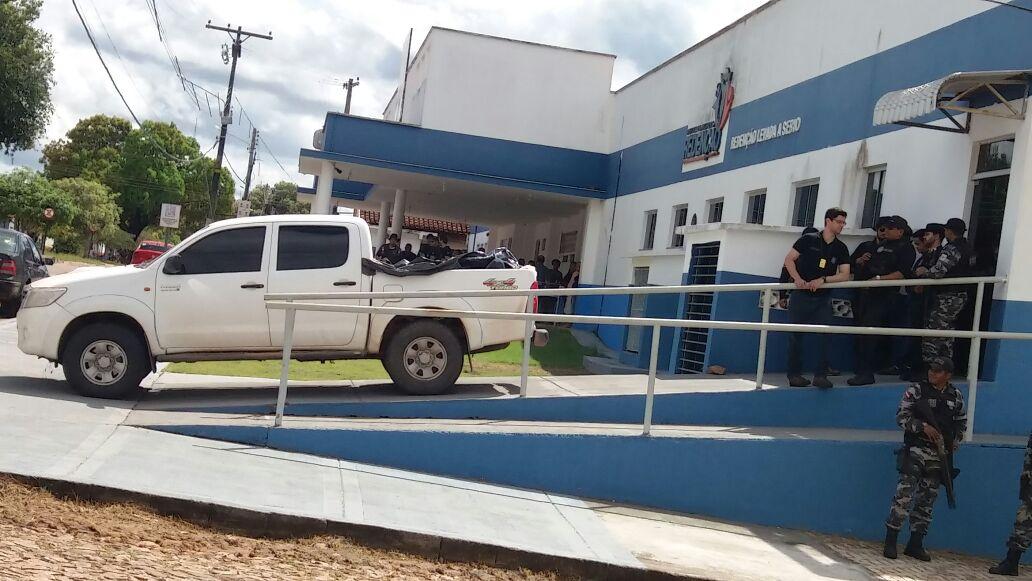 Foto de Invasores de uma fazenda no municipio de Pau D'arco no Pará entram em confronto com policiais e 10 pessoas são mortas
