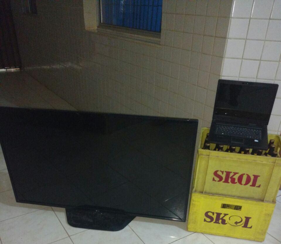 Foto de Produtos furtados do Clube dos 50 em Xinguara foram recuperados pela PC