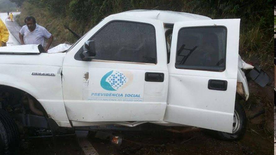 Foto de Servidores do INSS morrem em acidente de trânsito no Pará