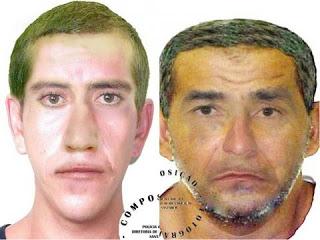Foto de Polícia Civil divulga retrato falado de suspeitos de assalto a banco em Placas