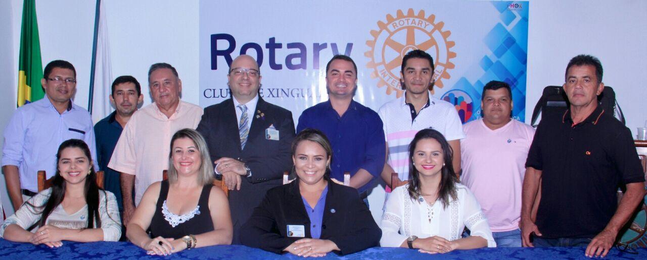 Foto de Rotary de Xinguara recebeu o governador Distrital da entidade
