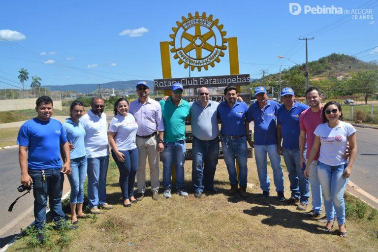 Foto de Governador do Rotary Club visita Parauapebas