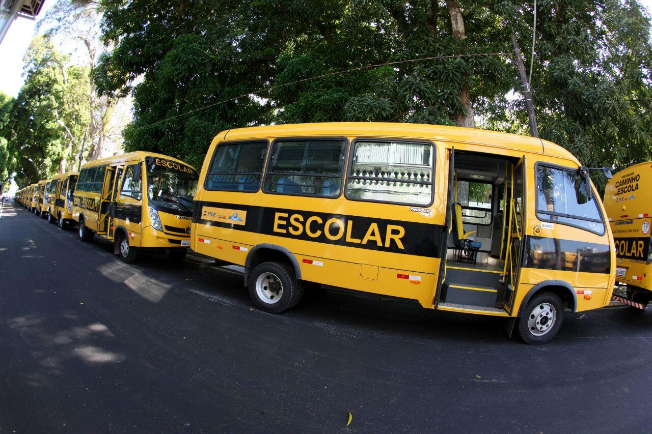 Foto de Estudantes de Xinguara ganham novo transporte escolar para a forta