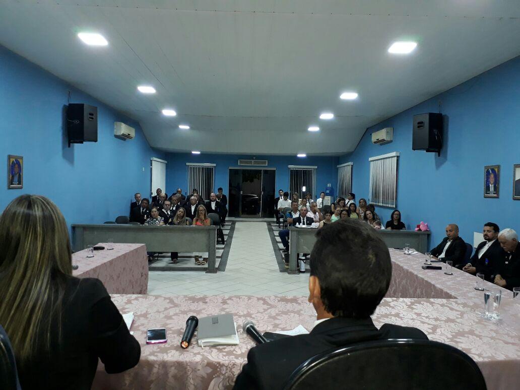 Foto de Dia do Maçom é comemorado em Sessão Solene na Câmara de Xinguara