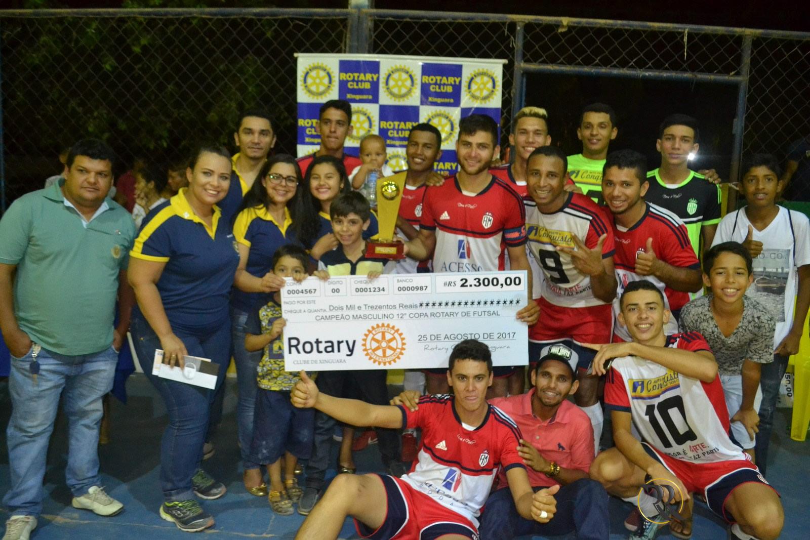 Foto de Final da Copa Rotary de Futsal leva centenas de torcedores ao espaço esportivo do Clube