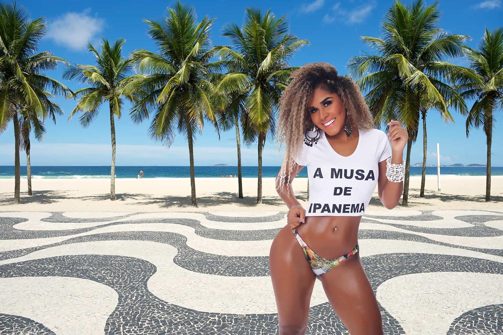 Foto de Garota de Parauapebas participa do Concurso Musa de Ipanema no Rio de Janeiro