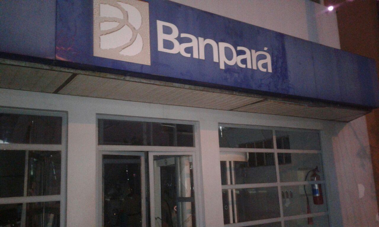 Foto de Mais uma agencia bancaria de Sapucaia foi alvo de assalto dessa vez o Banpará