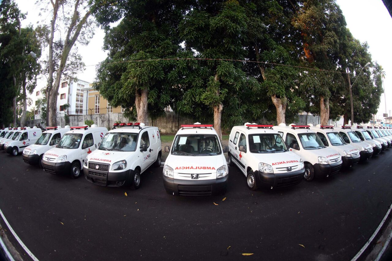 Foto de Cinco municípios da região Araguaia ganham reforço na saúde básica com novas ambulâncias