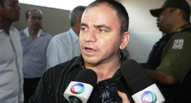 Foto de Coletiva de Imprensa: Delegado confirma a prisão de três suspeitos na morte do prefeito de Tucuruí Jones William