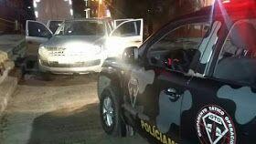 Foto de PM prende em Xinguara trio com caminhonete roubada em Ourilândia do Norte