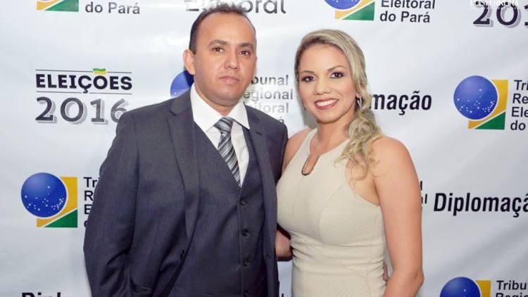 Foto de Tucuruí: Viúva de Jones William é acusada de ajudar a desviar dinheiro da prefeitura no dia da morte do marido