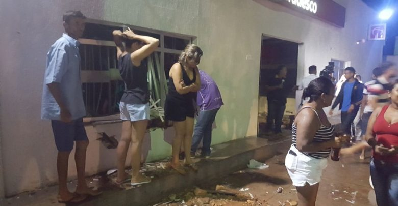 Photo of Grupo explode agências do Bradesco e Banpará em Santana do Araguaia