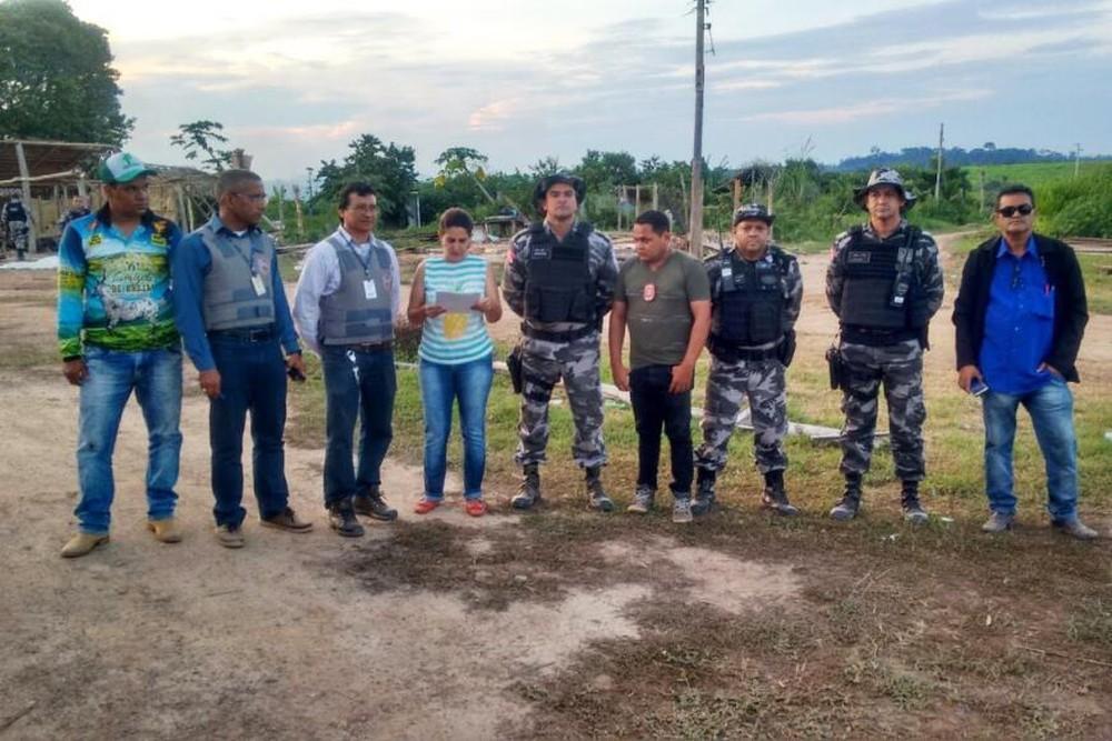 Foto de Em Marabá, operação conclui reintegração de posse da Fazenda Santa Teresa