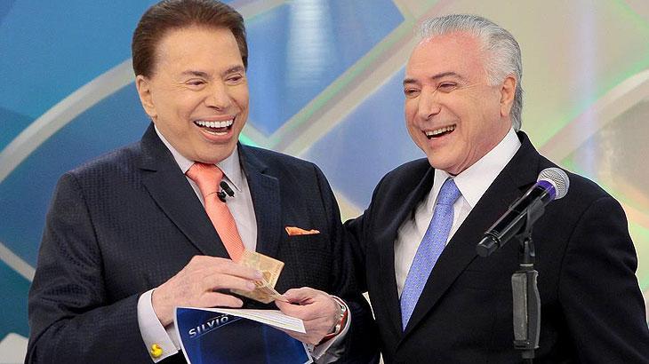 """Photo of Silvio Santos recebe o presidente Michel Temer para falar da """"Reforma da Previdência"""""""