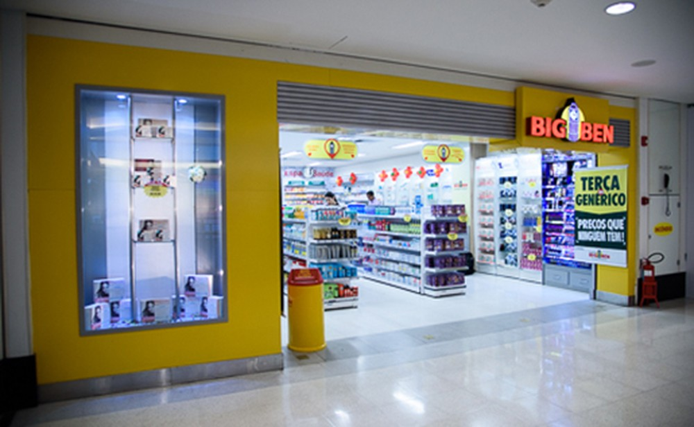 Foto de Rede de farmácias Big Ben fecha as portas após pedido de recuperação judicial