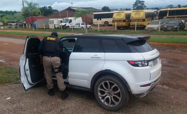 Foto de Carro roubado no Rio de Janeiro é recuperado em Xinguara