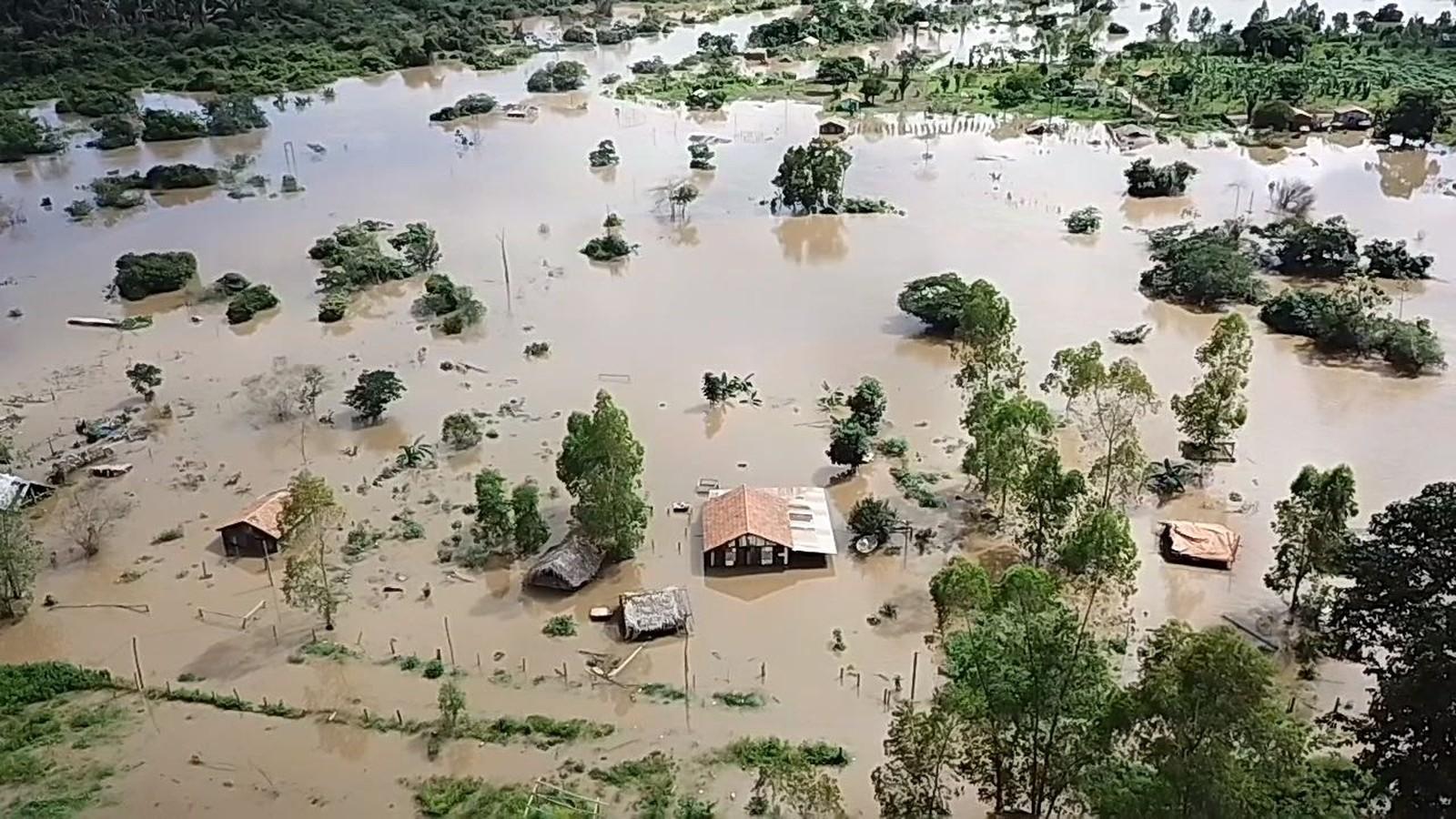 Foto de Sobe para 15 o número de municípios do Pará atingidos por enchentes