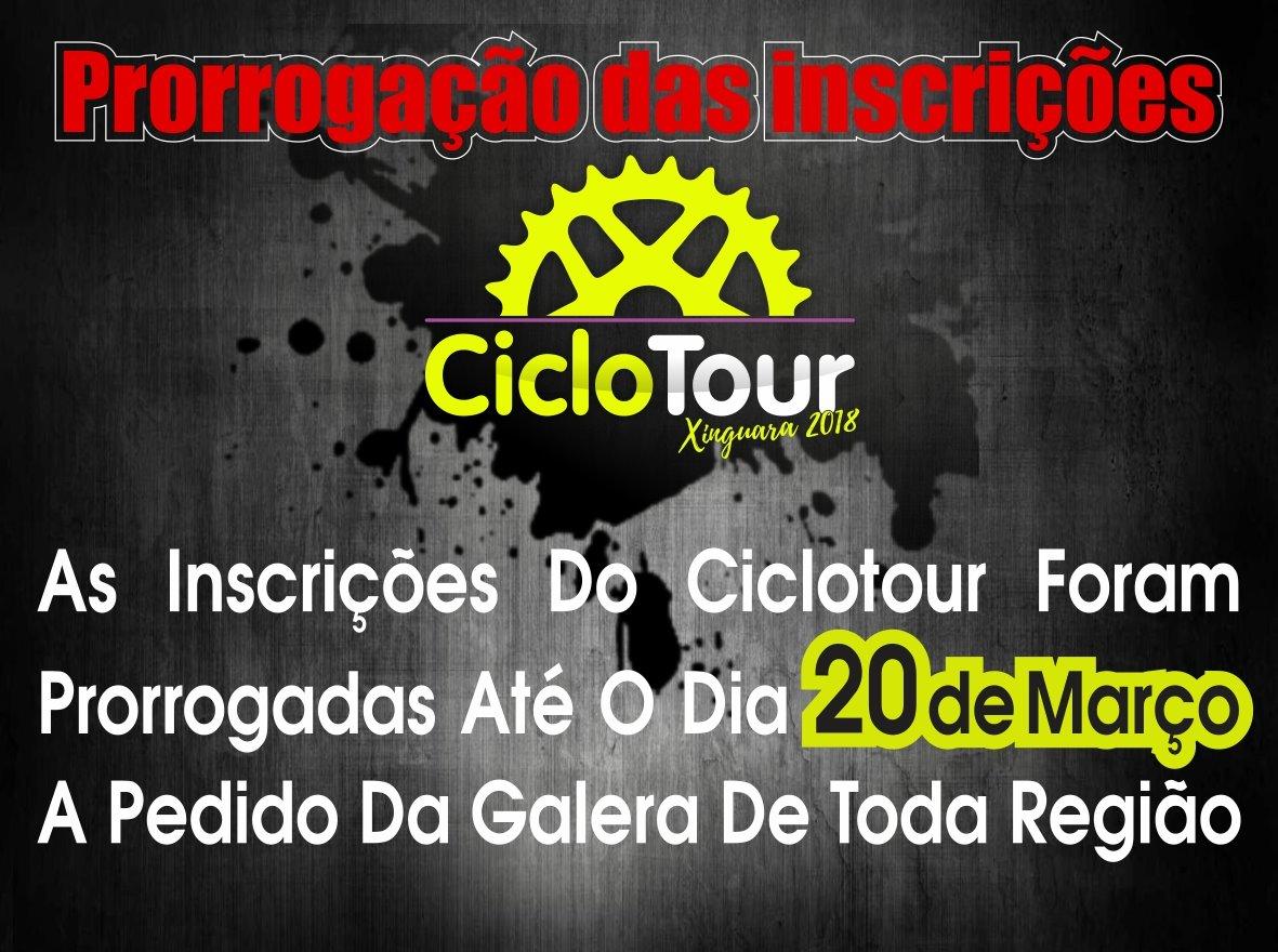 Foto de ATENÇÃO: Foi prorrogado o prazo para as inscrições para o Ciclotour Xinguara 2018