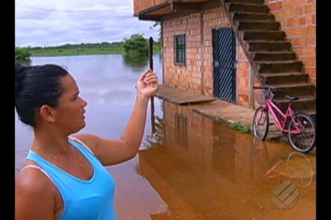 Foto de Fortes chuvas aumentam níveis de rios e provocam transtornos em Marabá e Parauapebas
