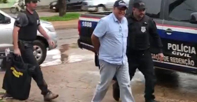 Foto de Pau D'Arco: ex-prefeito, Maurício Cavalcanti, foi preso em operação da Polícia Civil