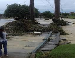 Foto de Após chuva forte rodovia rompe e deixa comunidades alagadas, em Paragominas