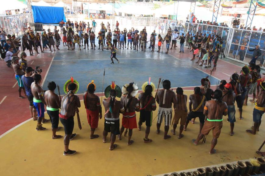 Photo of Índios vão às ruas na luta por direitos em São Félix do Xingu