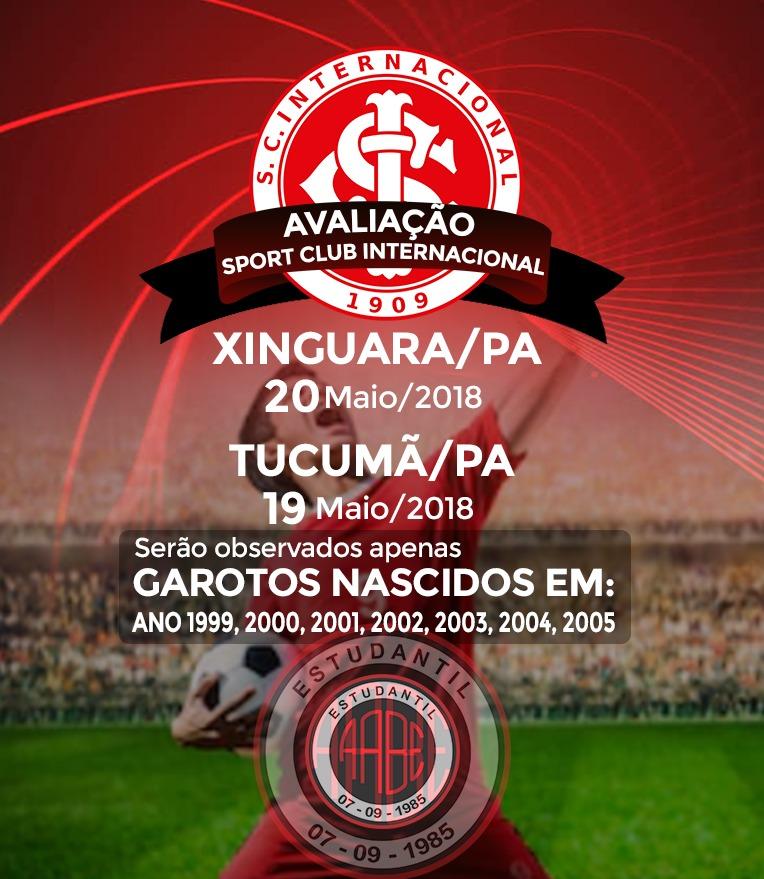 Foto de Internacional de Porto Alegre vem a Xinguara e Tucumã avaliar garotos da região sul e sudeste do Pará