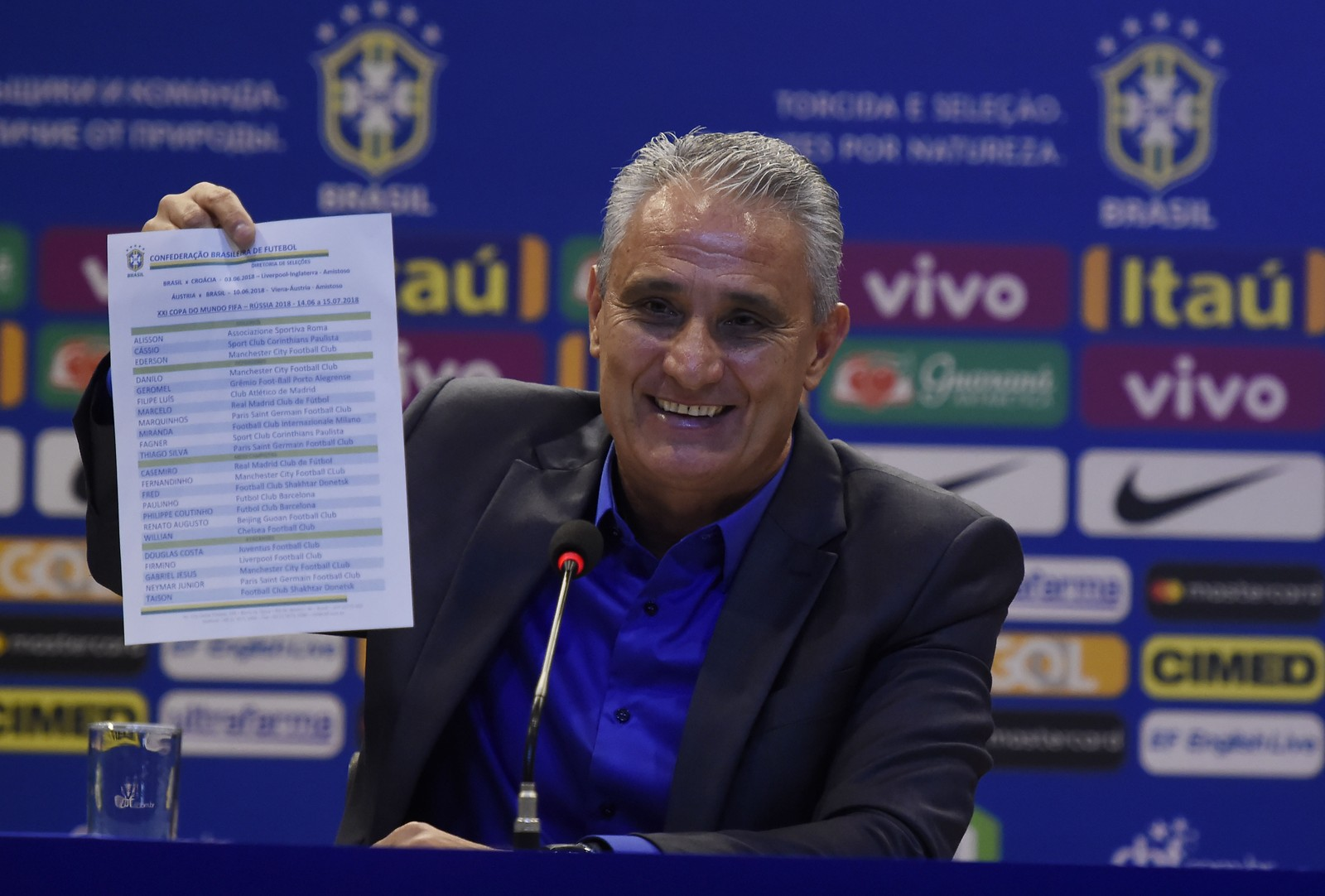 Photo of Lista fechada: Tite anuncia os 23 convocados para a Copa do Mundo