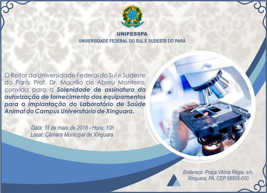 Foto de Autorização de fornecimento dos equipamentos para implantação do Laboratório de Saúde Animal será assinada nesta sexta-feira