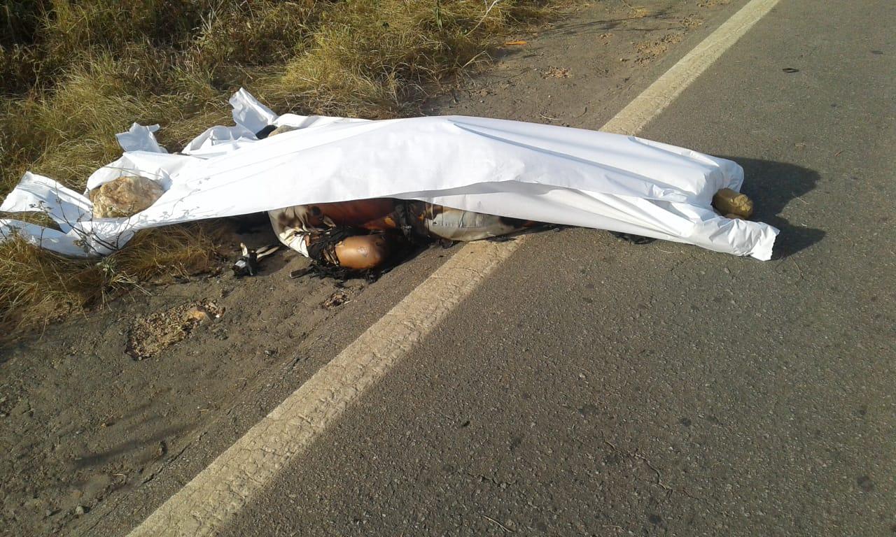 Foto de Uma pessoa morre após sofrer acidente de transito na PA 279