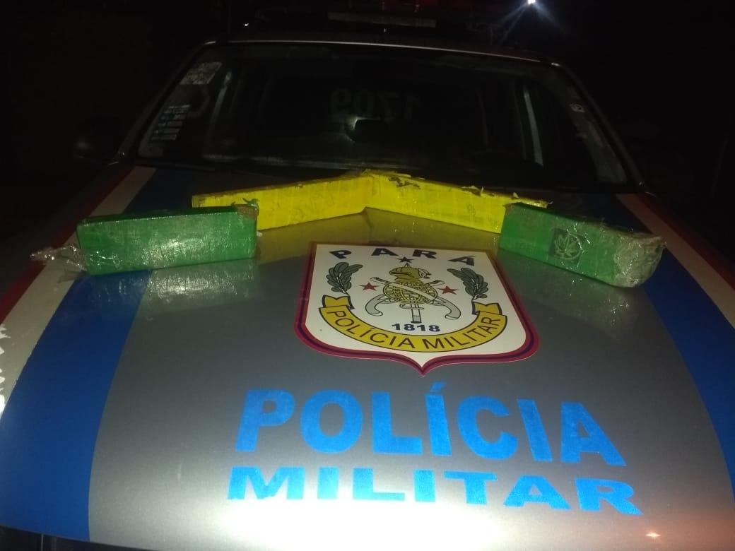 Foto de Polícia Militar de Sapucaia aprende mais de 3Kg de droga e acusados de tráfico