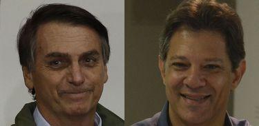 Foto de Campanha de Haddad gasta 20 vezes mais do que a de Bolsonaro