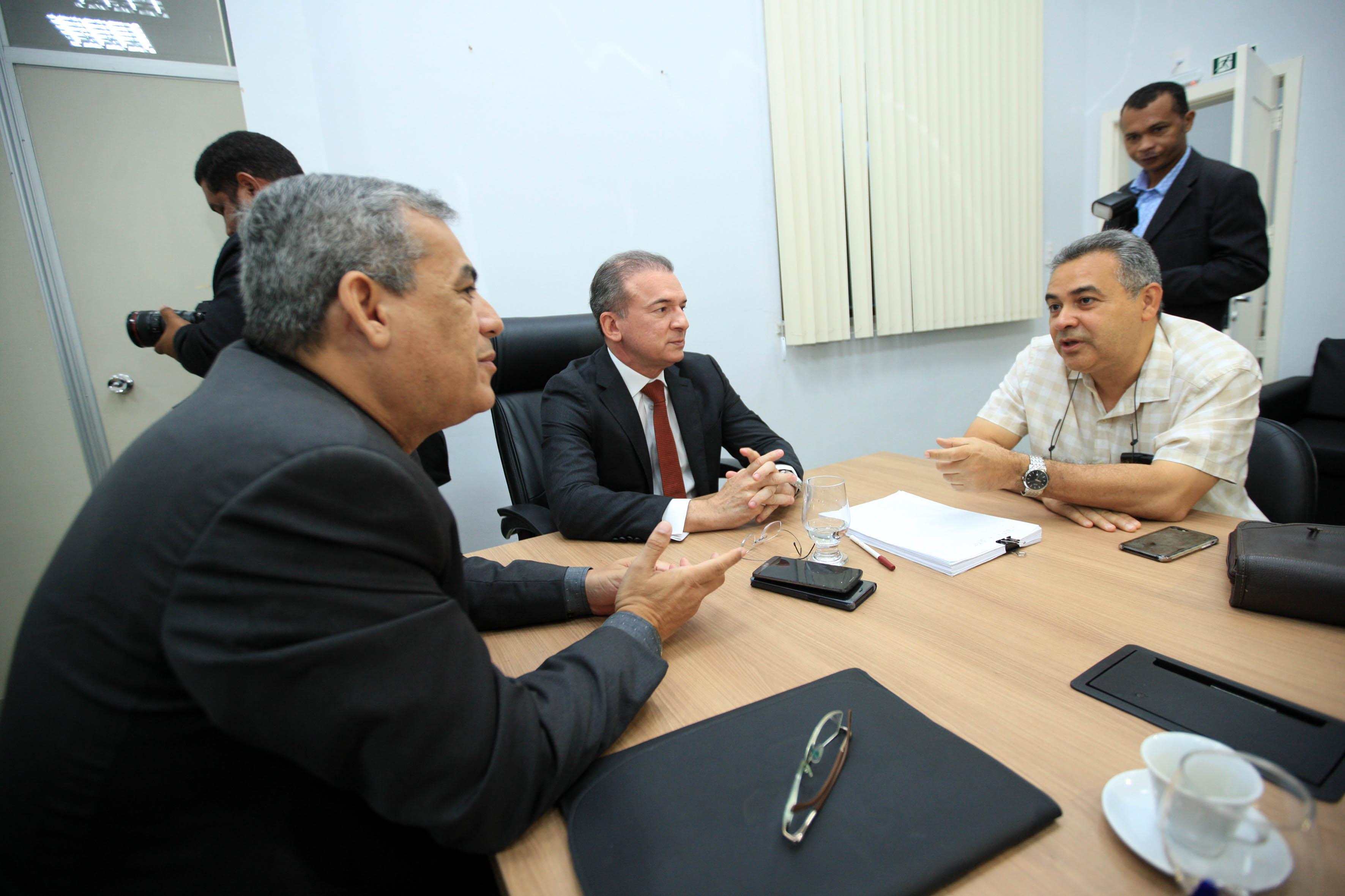 Photo of Iniciadas reuniões de transição do governo; Estado recebe pedido formal de informações da gestão