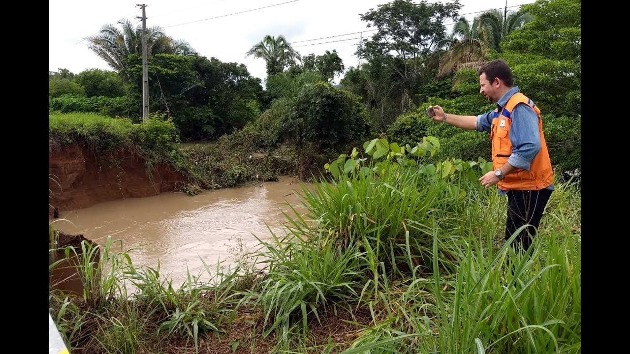 Foto de Defesa Civil continua agindo em Redenção por conta do rompimento de represas
