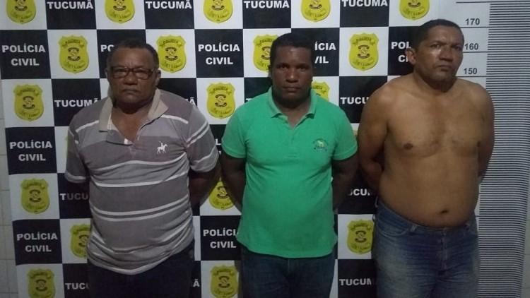 Foto de Três mototaxistas acusados de participar do linchamento em Tucumã foram presos pela Polícia