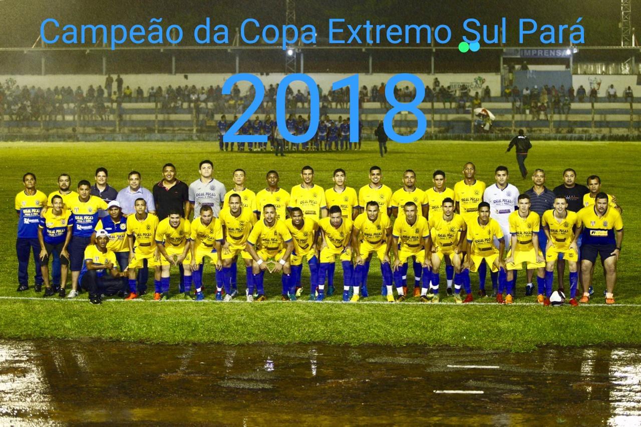 Foto de Xinguara deu a volta por cima, venceu Redenção e após 11 anos volta a conquistar a Copa Sul Pará