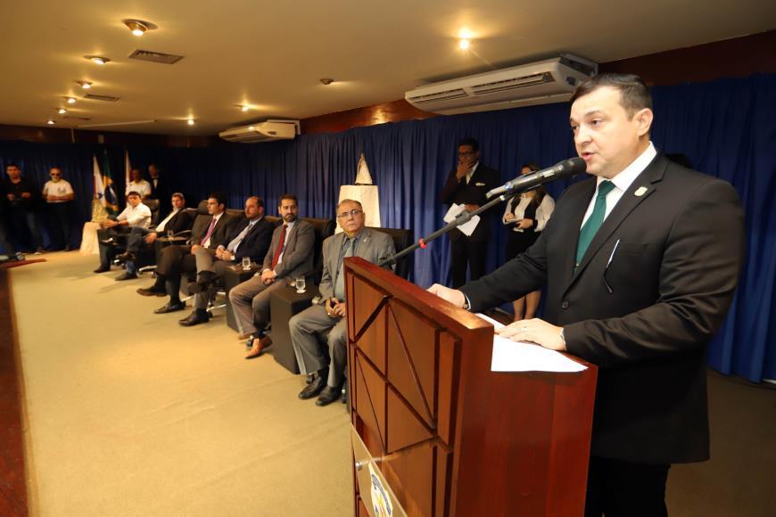 Foto de Delegado geral da PC do Pará reforça compromisso de combate à criminalidade em todo Estado