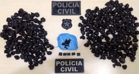 Foto de Polícia Civil desmonta esquema de venda de drogas em São Félix do Xingu
