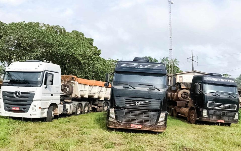 Foto de Fiscalização apreende 231 toneladas de manganês em Marabá