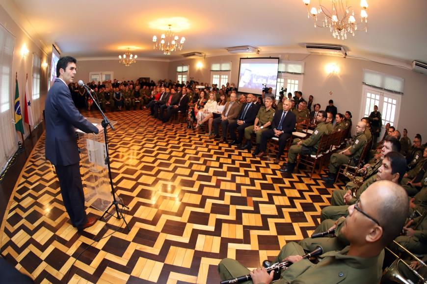 Foto de Polícia Militar ganha aplicativo para ajudar no combate à criminalidade