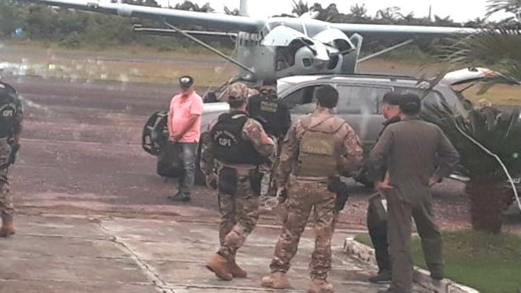 Foto de PF prende em Tucumã 'Joãozinho Pé de Cobra', apontado como chefão do tráfico para a América Latina, Estados Unidos e Europa